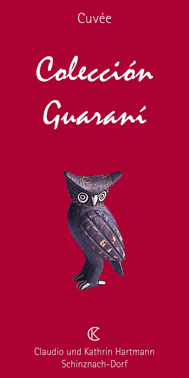 Schweizer Rotwein Guarani von ck Hartmann